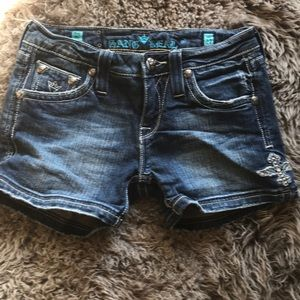 Sang Real Size 27 Jean Shorts